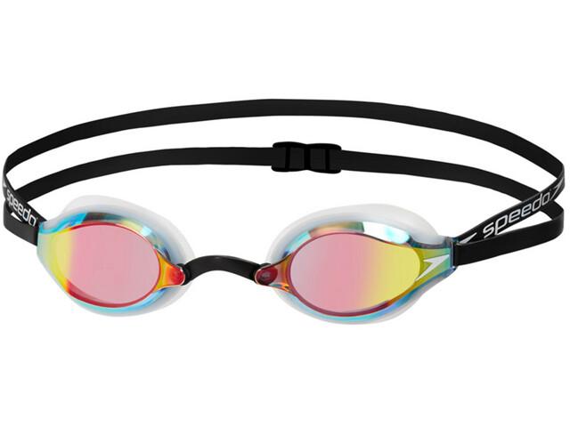 speedo Fastskin Speedsocket 2 Mirror Goggles Unisex white/rose gold